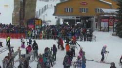 Le ski: enfin un sport