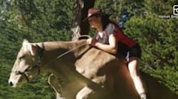 Teen Has Been Riding Her Beloved Cow For