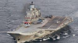 Moscou annonce le retrait de ses navires de guerre au large de la