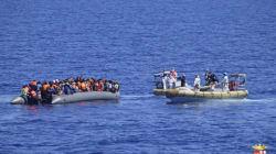 Europe: le nombre des migrants arrivés par la mer a chuté en