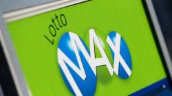Le gros lot de 55 millions $ de Lotto Max a été