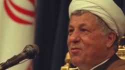 L'ex-président iranien Rafsandjani est