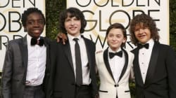 Apenas amamos o elenco de 'Stranger Things' no tapete vermelho do Globo de