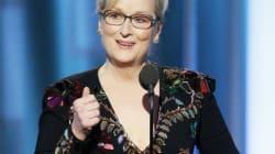 Meryl Streep critique Trump dans un discours bien