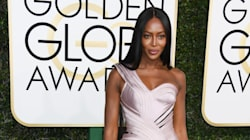 Naomi Campbell Was A Breathtaking Work Of Art At The Golden