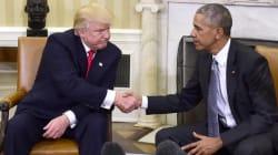 Obama vs Trump. Non sembra, ma hanno un punto di