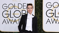 Evan Rachel Wood avait une excellente raison de porter un costume aux Golden