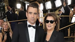Colin Farrell Had Most Badass Golden Globes Date... His