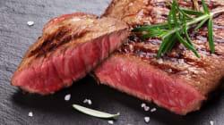 Les amateurs de viande rouge souffrent plus souvent d'une