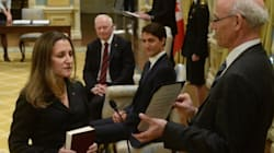 Freeland Replaces Stephane Dion At Foreign