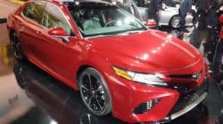 Toyota dévoile la nouvelle Camry 2018 à