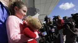 Ontario Girl Reunited With Teddy After Fort Lauderdale