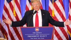Furieux, Trump dénonce les «fausses informations» le liant à