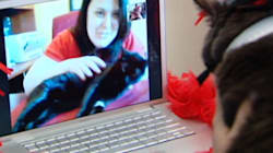 Fredericton's Tiny The Cat Gets A Valentine's Day Skype