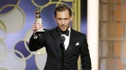 Tom Hiddleston s'excuse pour son discours étrange des Golden