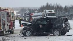 Moins de collisions mortelles au Québec en