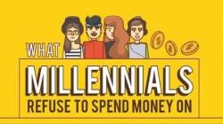 Le 10 cose per cui i Millennials non sono disposti a spendere soldi