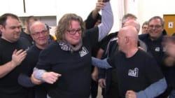 La grogne contre la présidente des cols bleus persiste malgré le vote de