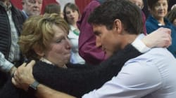Tearful Grandmother Presses Trudeau On His Carbon
