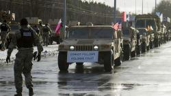 L'arrivée des soldats américains saluée en