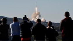 Succès du lancement de la fusée de