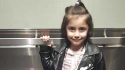 Une jeune réfugiée syrienne de 5 ans reçoit une nouvelle