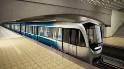 Les voitures de métro Azur retirées