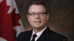 Le vice-amiral de la marine canadienne relevé de son