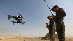 「イスラム国」(IS)が市販ドローンを改造した爆撃機を戦線に投入か。治安部隊は電波銃で応戦