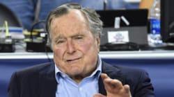 George Bush père et son épouse
