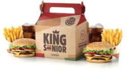 Burger King lança combo para idosos com mais de 70