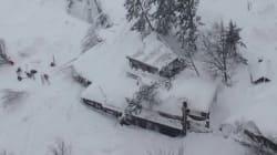 Hôtel sous une avalanche en Italie: des survivants extraits des