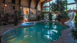 Calgary Billionaire's Home For Sale Includes POOL IN THE LIVING