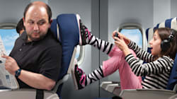 It's Official: Rear Seat Kicker Is Worst Type Of Airline