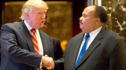 Martin Luther King III diz que encontro com Trump foi 'muito