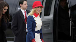 Trump Advisor Wears Her Patriotism On Her Sleeve And Hat And