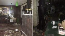 Le prime immagini delle stanze dei rifugiati: così sono riusciti a