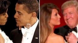 Donald e Melania fuori tempo, Michelle e Barack vincono la sfida nel ballo dei