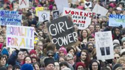 Des milliers de personnes à Montréal pour la marche des femmes contre