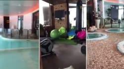 Le ultime immagini dell'hotel Rigopiano prima della