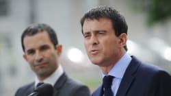 Primaire socialiste en France: Hamon et l'ex-Premier ministre Valls au second
