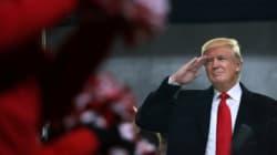 C'est officiel: Trump va de l'avant avec son mur pour le
