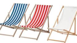 Ikea procède au rappel des chaises de plage