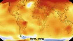 Watch Earth's Temperature Rise In Anxiety-Inducing NASA