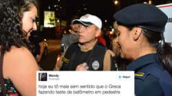Curitiba faz blitz em pedestres e população fica
