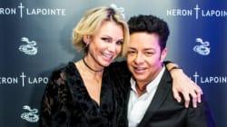Styles de soirée: le lancement de la collection de bijoux d'Éric Lapointe et de Caroline Néron