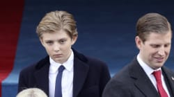 White House Asks Press To Leave Barron The Hell