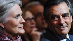 Penelope Fillon sort de son