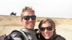 La luna di miele on the road di questa coppia dura da almeno 7