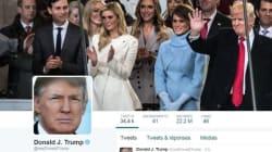 Twitter a associé Donald Trump au mot